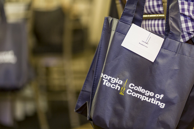 Apply image- GT College of Computing Tote Bag