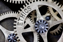 Ethics stock image